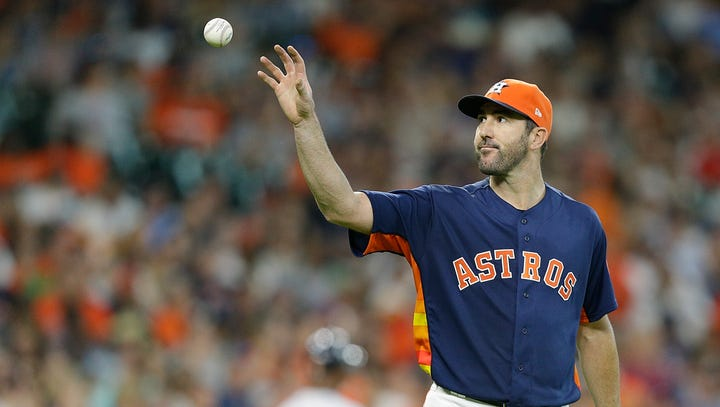 Tigers tattoo Justin Verlander with four home runs in 6-3 triumph