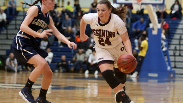 Ossining defeated Lourdes 75-63 in the girls Section