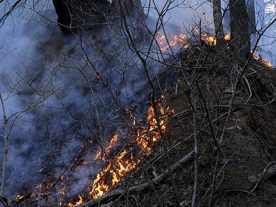 Rich Hole Wilderness wildfire 4/11/12