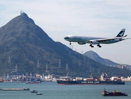 EPA CHINA HONG KONG CATHAY PACIFIC EBF TRANSPORT CHN