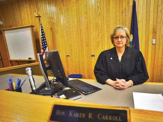 Gov. Phil Scott recently announced Judge Karen Carroll, of Vernon, Vt., willreplace Justice John Dooley on the Vermont Supreme Court. Judge Dooley is set to retire onMarch 31, 2017.