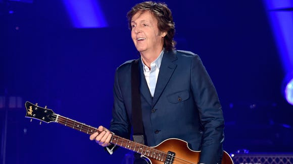 Rock legend Paul McCartney will play the Denny Sanford Premier Center in Sioux Falls on May 2.