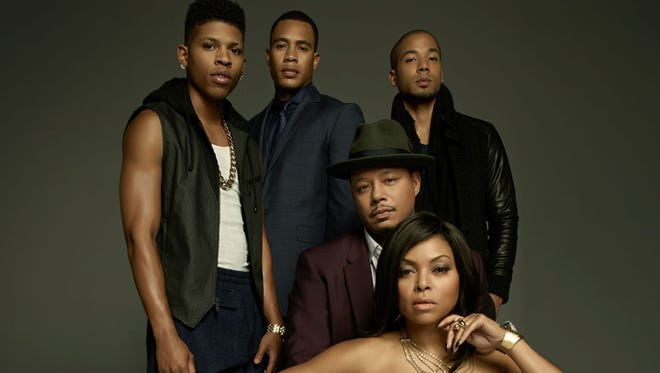"The Lyon family, of television show ""Empire"" on Fox"