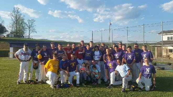 North Henderson baseball is using Saturday's alumni game to conclude its season-long campaign to raise awareness for pediatric cancer.