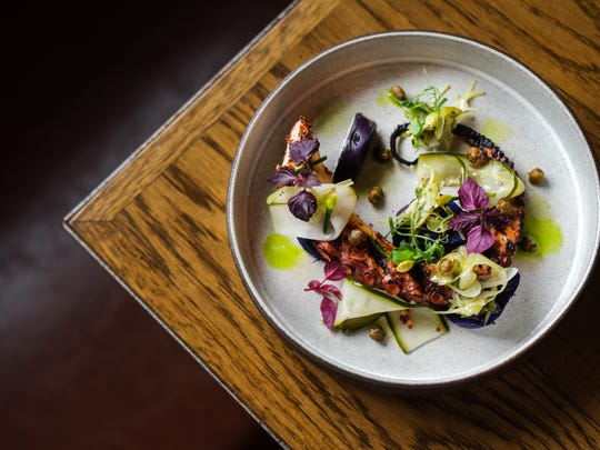 The octopus appetizer has been on the menu at the Common