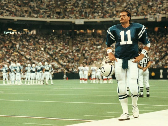 Indy native Jeff George lasted just four seasons with