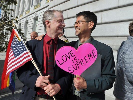 BLM COURT GAY MARRIAGE A POL USA CA