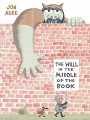 """The Wall in the Middle of the Book"" by Jon Agee"