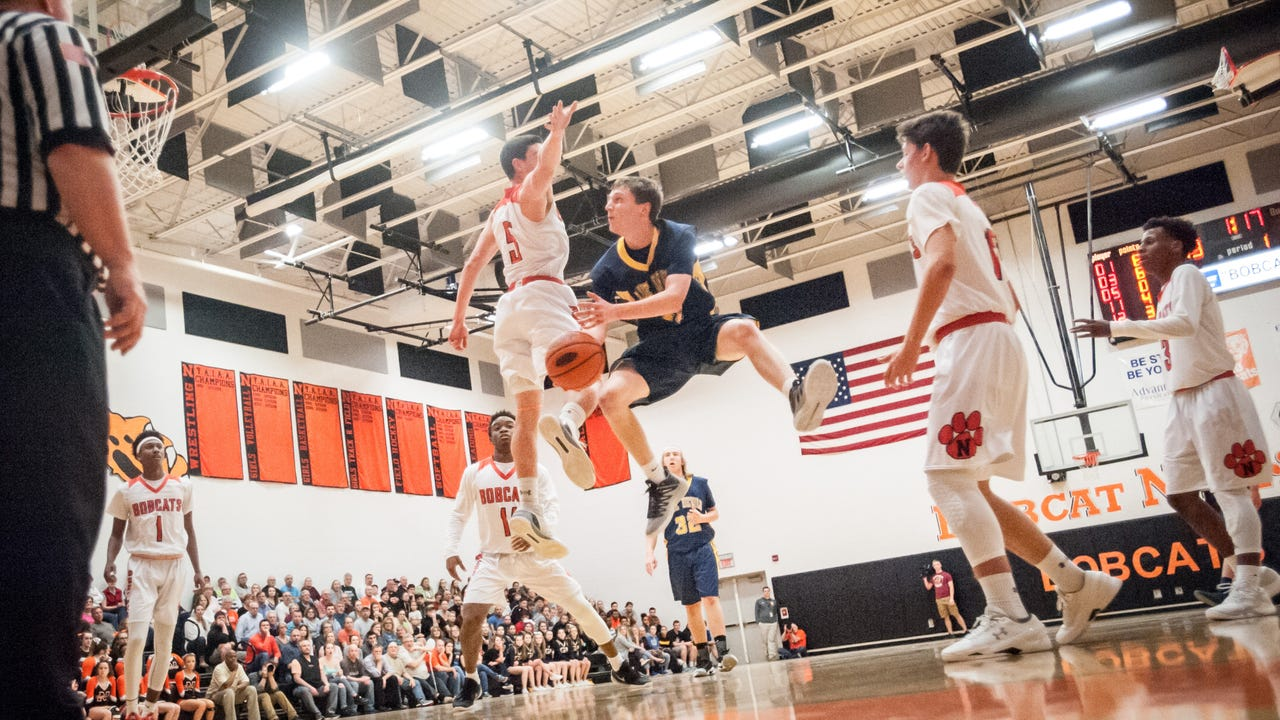 Check out the best plays from Northeastern's District 3 Class 5A boys basketball victory over Greencastle-Antrim.