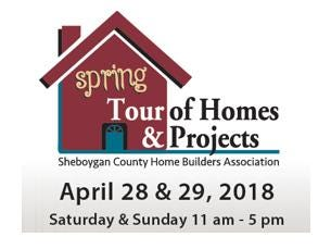 Get FREE tickets to the Sheboygan area Spring Tour of Homes & Projects.  April 28th & 29th.