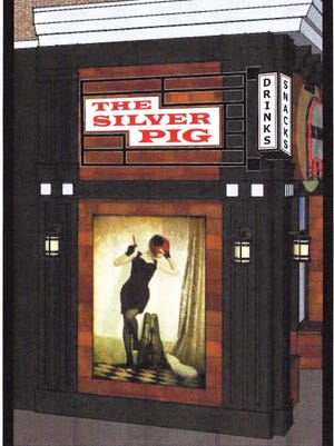 This is an artist's rendering of The Silver Pig, which is expected to open early this summer in downtown Howell.