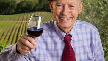 """Miljenko """"Mike"""" Grgich, founder of the Grgich Hills Estate winery in Napa Valley, lives part-time in the Coachella Valley and has a room named after him at La Quinta Resort & Club."""