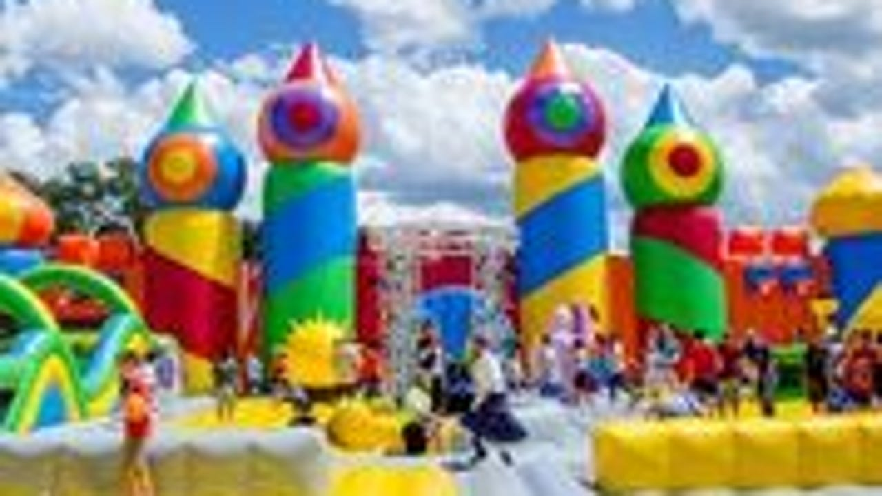 A 10,000 square foot, 32 feet high bounce house comes to Tallahassee in November.