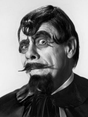 Lawson J. Deming in his alter ego of Sir Graves Ghastly  1981