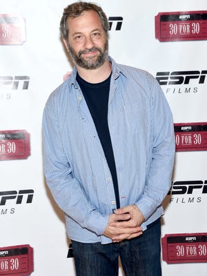 Judd Apatow, who executive produces HBO's 'Girls' and 'Crashing,' along with Netflix's 'Love.'