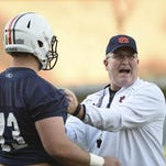 Malzahn confident in Herb Hand's 'ability to stay calm' in coaching box