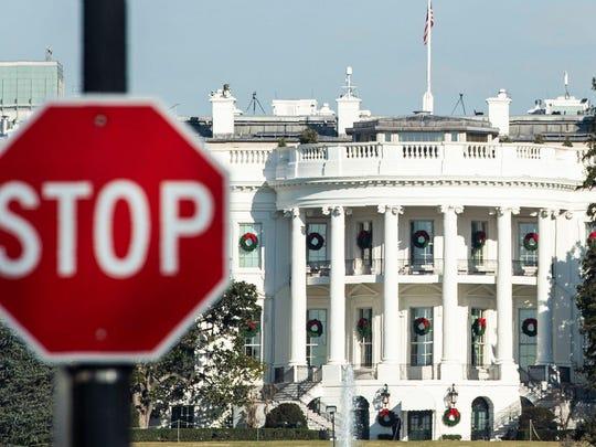 TOPSHOT-US-politics-BUDGET-SHUTDOWN-TRUMP
