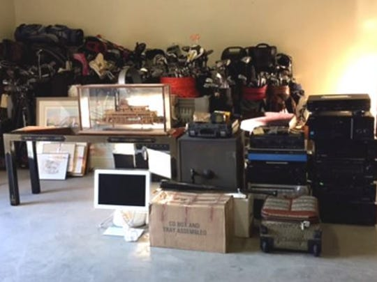 Sheriff's deputies seized stolen property to the tune of $700,000.