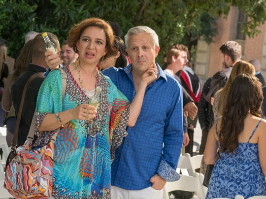 "Maya Rudolph and Damon Jones star in ""Life of the Party."""