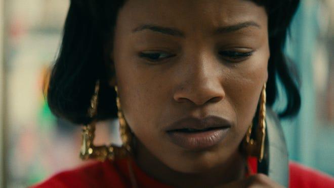 Chante Adams in Netflix's 'Roxanne Roxanne.'