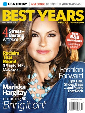 USA TODAY Best Years magazine features lifestyle stories for women 50 and older. Find it on magazine newsstands or at bestyears.usatoday.com.
