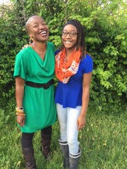 Tasneem Grace Tewogbola and her daughter Yemurai, both of whom have been involved with Act Like a GRRRL.