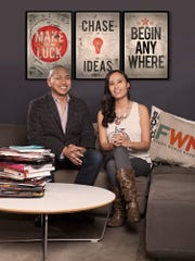 Odeen Domingo, left, and Jenny Poon have started online