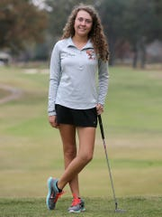 South Gibson's Sally Tiger finished 10th in the Class A-AA state tournament.