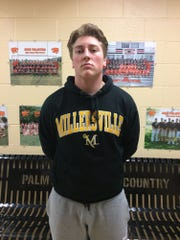 Palmyra lineman Prestyn Crawford helped the Cougars to the District Three Class AAA playoffs in the fall. On National Signing Day Wednesday, Crawford announced he'll continue his football career at Millersville University.