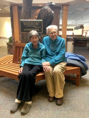 Fran and Jack Fisher, currently living at Cornwall Manor in Cornwall, have been married for 70 years.