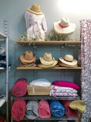 Hats and home goods at UAL.
