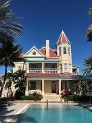 The Southernmost House is an oceanfront historic bed-and-breakfast on Duval Street with delightful pool and ocean views, where guests can opt for a courtyard view room, such as The Roosevelt Room with a private entrance and easy access to the pool or a beachfront view room with a balcony to maximize ocean viewing. The Victorian mansion features 18 distinct rooms with charming boutique personality where guests relive the charm and romance of the Keys.