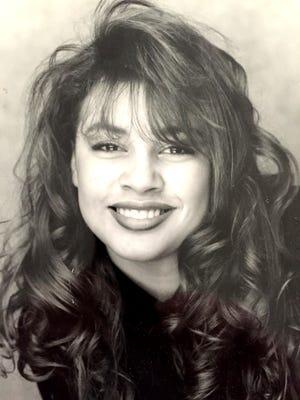 Cristina Hoober is shown at age 19.