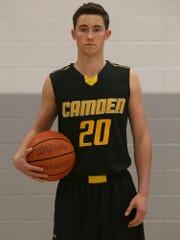 Hunter VickCamden, Guard, Junior26.9 points, 8.0 rebounds, 4.8 assists, 3 steals