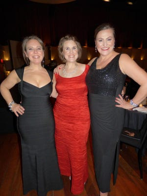 Detroit Public Theatre founders Sarah Winkler, co-artistic director, Bash co-chair and Birmingham resident; Sarah Clare Corporandy, producing director; and Courtney Burkett, co-artistic director.