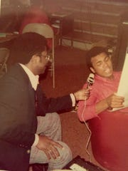 Bill Walker interviewed the champ for about 4 hours at his training camp north of Reading.