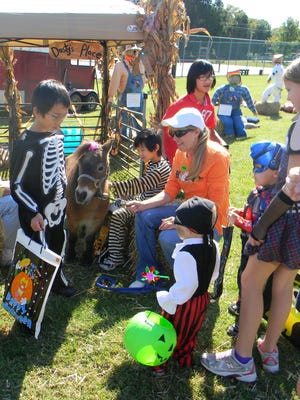 A past Halloween in the Park at Charlie Daniels Park.
