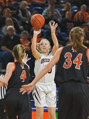 Lennox's Madysen Vlastuin was voted preseason Player of the Year in Class A.