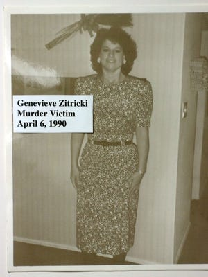 A photo of murder victim Genevieve Zitricki provided by police.