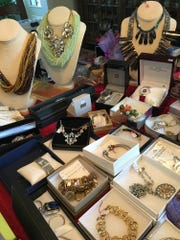 The GraceWorks Spring Bling sale has become an annual tradition, with hundreds of pieces of donated jewelry for sale.