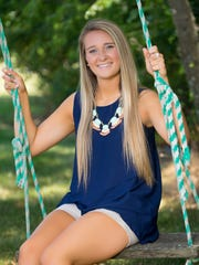 Taylor Christie, the daughter of Andrew Christie and Laura Wittman of Evansville, plans to study biology at the University of Evansville.
