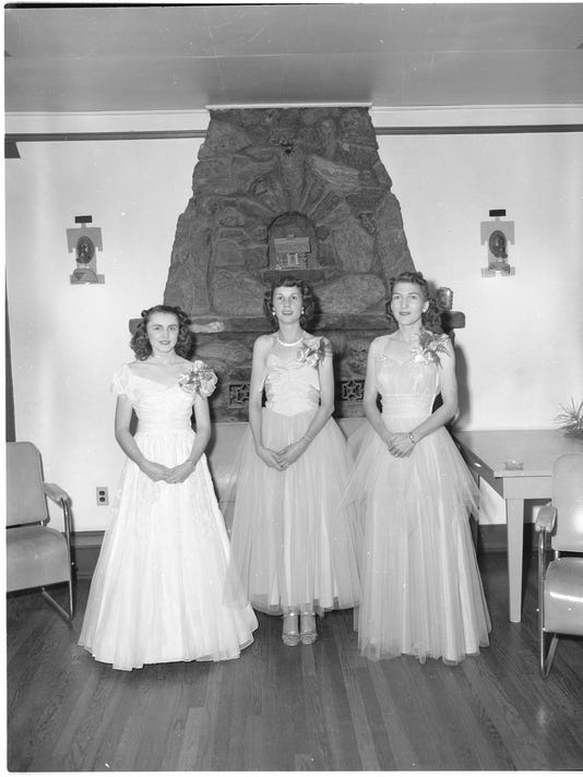 Carmon Phillips Neg3001 three women in gowns