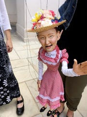 String City's puppet characters include Minnie Pearl.