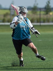 Campbell Garrison plays lacrosse for Appoquinimink