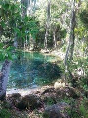Catching the morning light at Three Sisters Springs is a spiritually enriching experience.