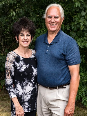 Don Maybee and his wife, Jill.