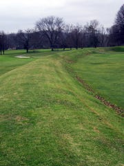 A section of the Octagon Earthworks in Newark, Ohio.