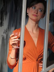 "Laurel Casillo in a scene from ""Mutual Philanthropy."""