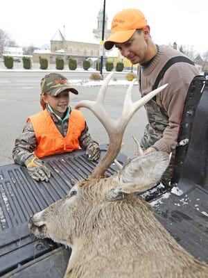 Wisconsin Republicans' decision to eliminate the state's minimum hunting age has created an embarrassing perception that infants are roaming the state's woods with guns and could allow adults to kill more animals using young children's tags.