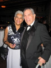 """-  Lois and Chuck Bronz and at the the annual Rotary District 7230 """"Crusade of the Heart"""" dinner dance in 2005."""